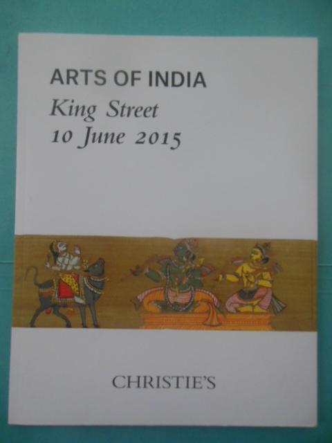 Image for Christie's Arts of India King Street 10 June 2015