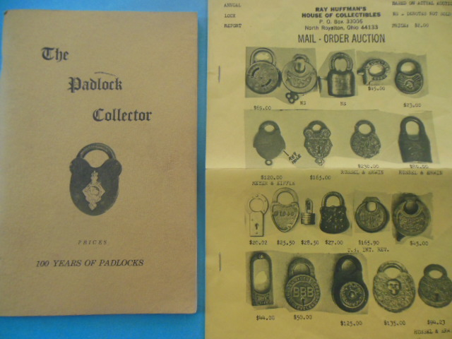 Image for The Padlock Collector: Illustrations and Price of 500 Padlocks of the Past 100 Years 1977