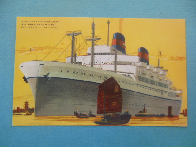 Image for American president Lines S.S. president Wilson California to the Orient