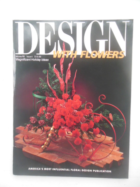 Image for Design with Flowers Magazine July-August, 1990