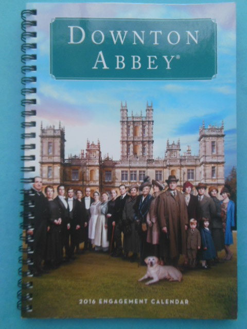 Image for Downton Abbey 2016 Engagment Calendar