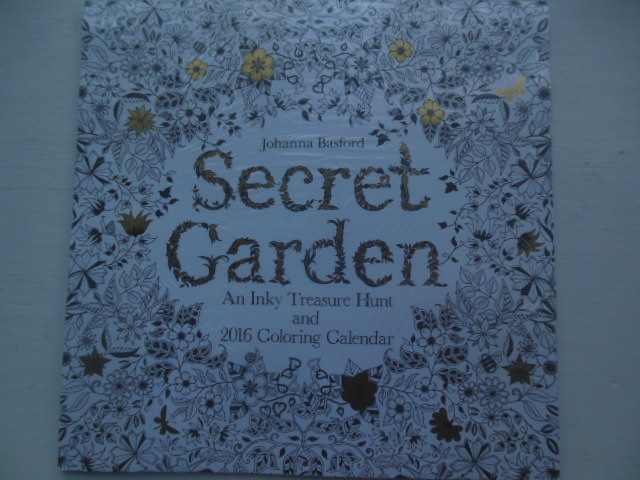 Image for Secret Garden An Inky Treasure Hunt and 2016 Coloring Calendar NEW