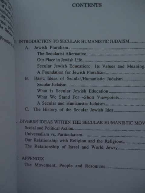 Image for Understanding Secular Humanistic Judaism