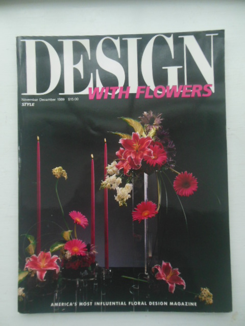 Image for Desoign With flowers agazine Nov.-Dec. 1989