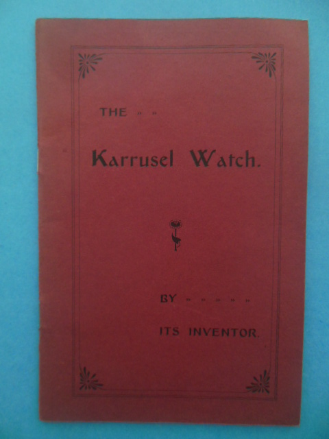 Image for The Karrusel Watch By Its Inventor 1905
