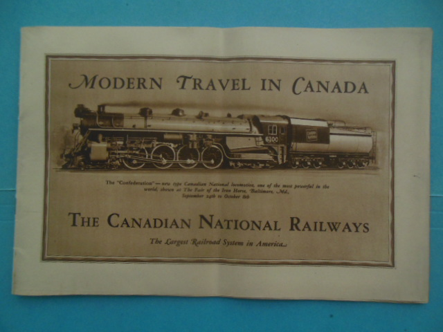 Image for Modern Travel In Canada: The Canadian National Railways 1927