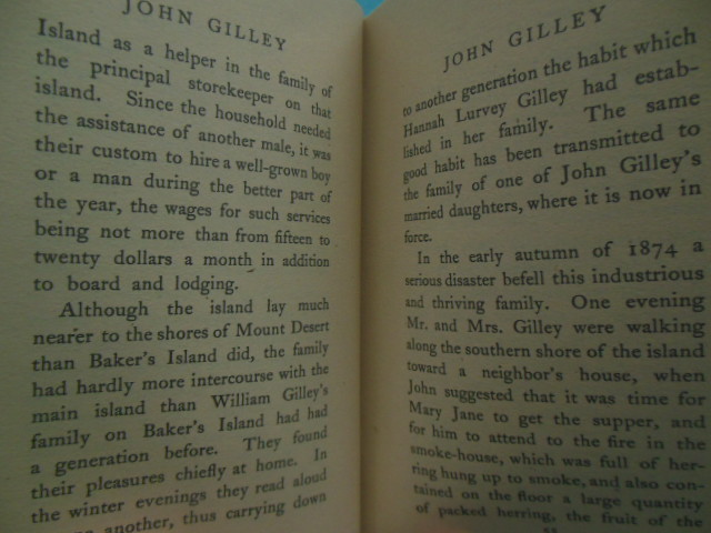 Image for John Gilley of Baker's Island Maine