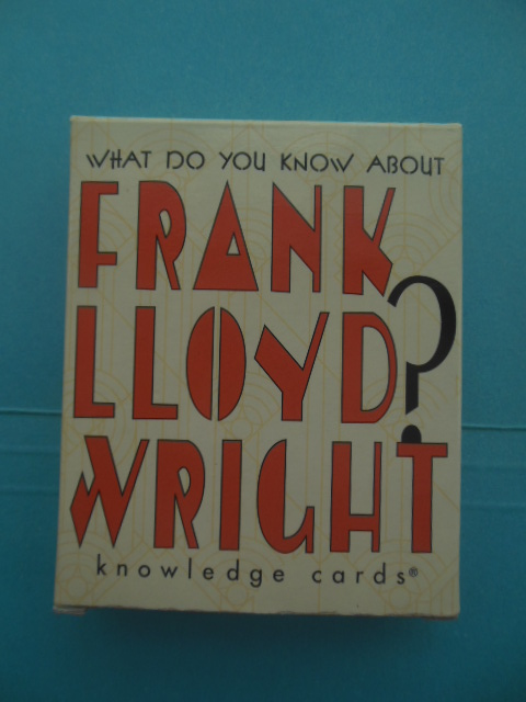 Image for What Do You Know About Frank Lloyd Wright Knowledge Cards