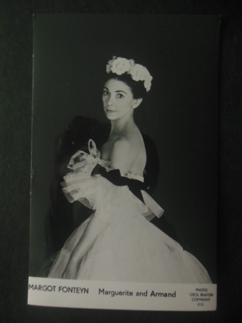 Image for Postcard Margot Fontaine  copyrighted by Cecil Beaton