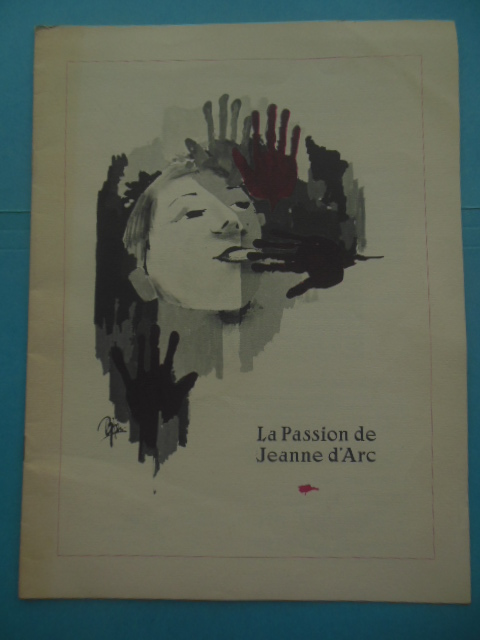 Image for La Passion de Jeanne d'Arc Program 1983 Wadsworth Theatre