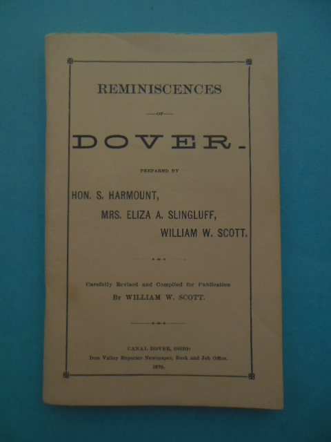 Image for Reminiscences of Dover, Ohio
