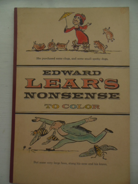Image for Edward Lear's Nonsense To Color 1963