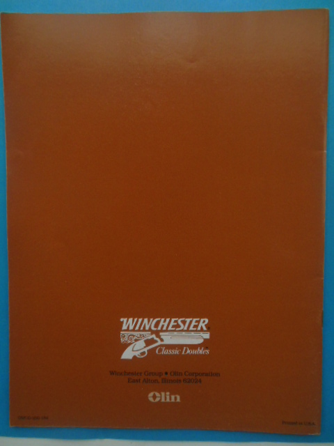 Image for Winchester Classic Doubles 1984 Catalog