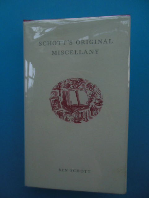 Image for Schott's Original Miscellany