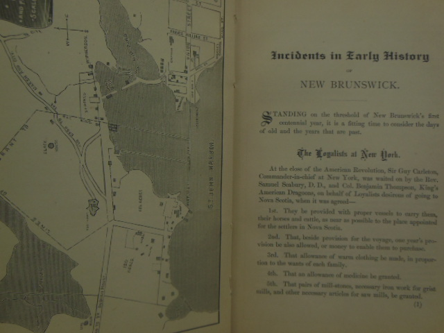 Image for Foot Prints; Incidents In Early History of New Brunswick 1783-1883