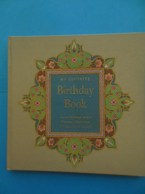 Image for My Favorite Birthday Book 1945
