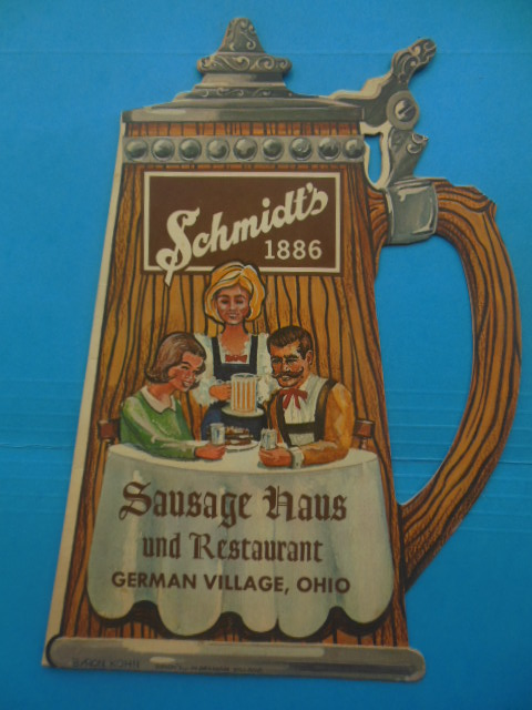 Image for Schmidt's 1886 Sausage Haus and Restaurant German Village, Ohio