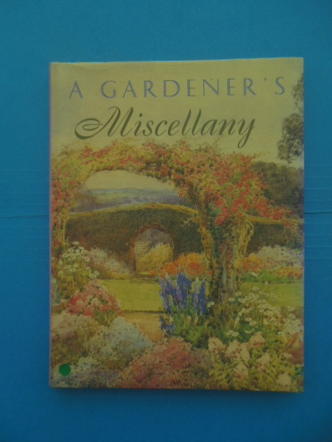 Image for A Gardener's Miscellany, 1995