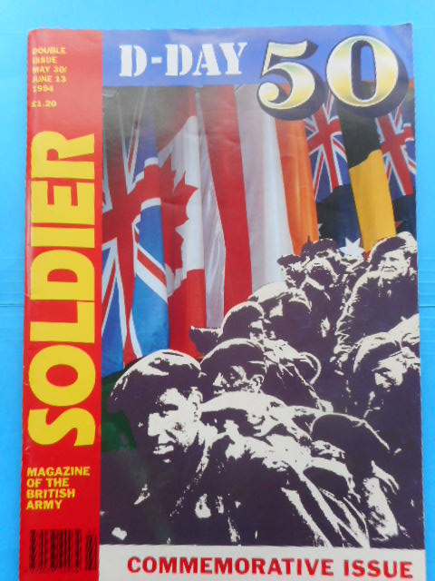 Image for Soldier, Magazine of the British Army D-Day 50 Commemorative Issue, 1994