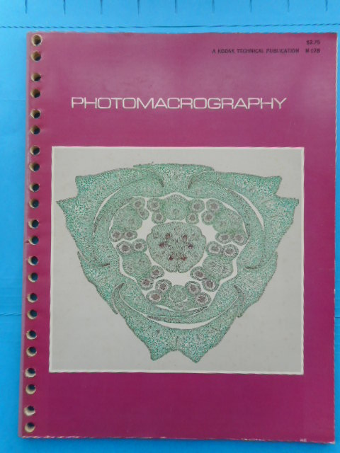 Image for Close-Up Photography and Photomacrography; Volume II on Photomacrography 1969