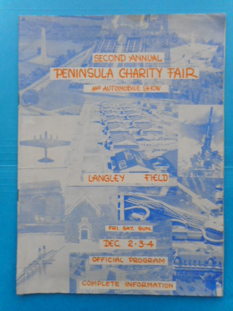 Image for Second Annual Peninsula Charity Fair and Automobile Show -- Official Program 1939