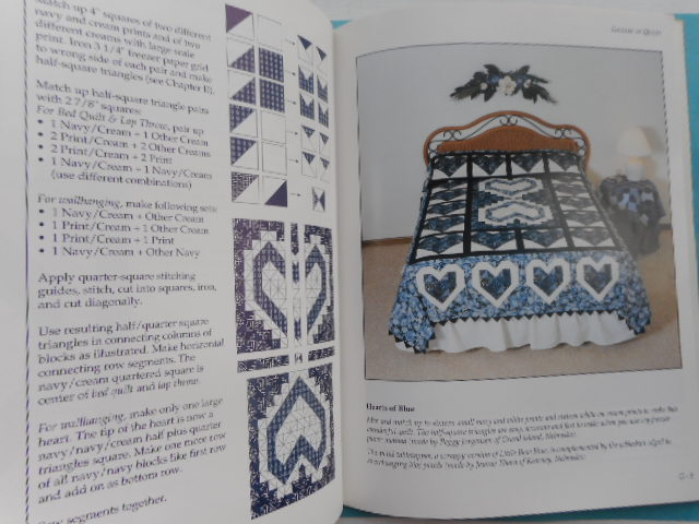 Image for A Romance with Blue and White; Lovely Quilts for a Love-Filled Home