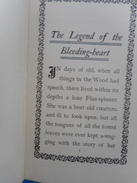 Image for The Legend of the Bleeding Heart 1907