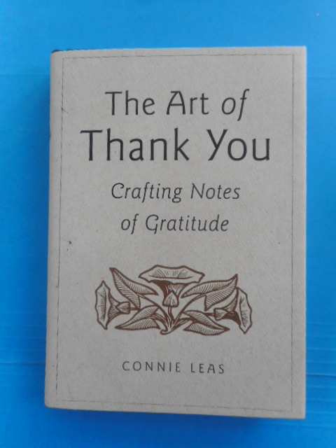 Image for The Art of Thank You; Crafting Notes of Gratitude