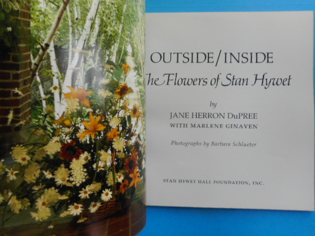 Image for Outside/Inside; the Flowers of Stan Hywet 1987
