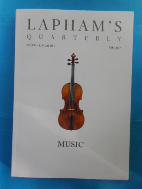 Image for Lapham's Quarterly Fall, 2017 (Music