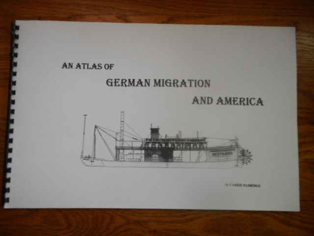 Image for An Atlas of German Migration of America