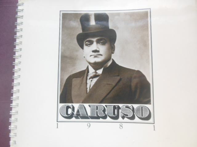 Image for Caruso -- The Opera Engagment 1981 Calendar