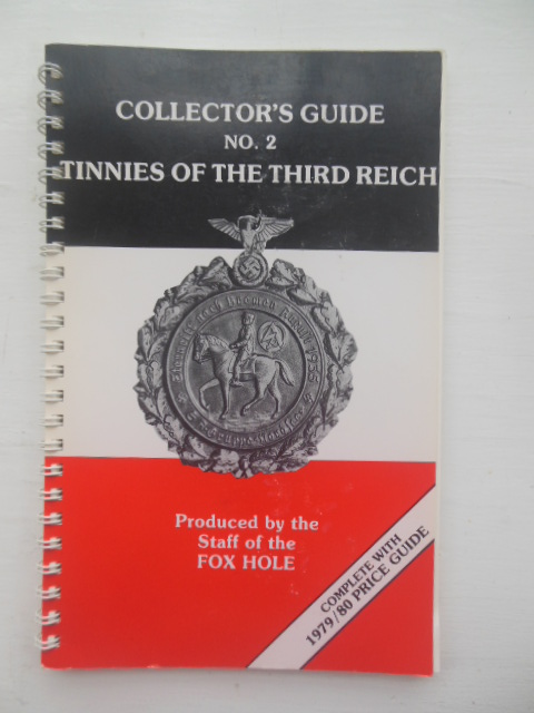 Image for Collector's Guide No. 2 Tinnies of the Third Reich