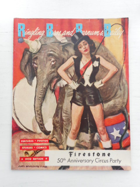 Image for Ringling Brothers and Barnum & Bailey Magazine Firestone 50th Anniversary