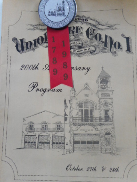 Image for Union Fire Co. No. 1.  200th Anniversary Program