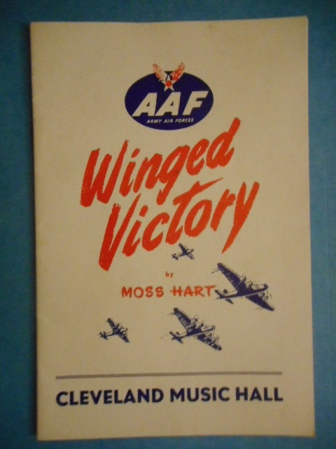 Image for Winged Victory Cleveland Music Hall, 1945
