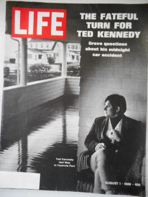 Image for Life Magazine. August 1, 1969. The FatefulTurn For Ted Kennedy.