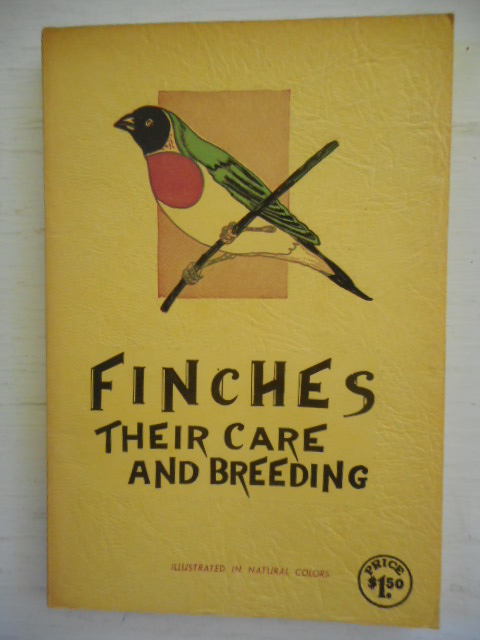 Image for Finches Their Care and Breeding