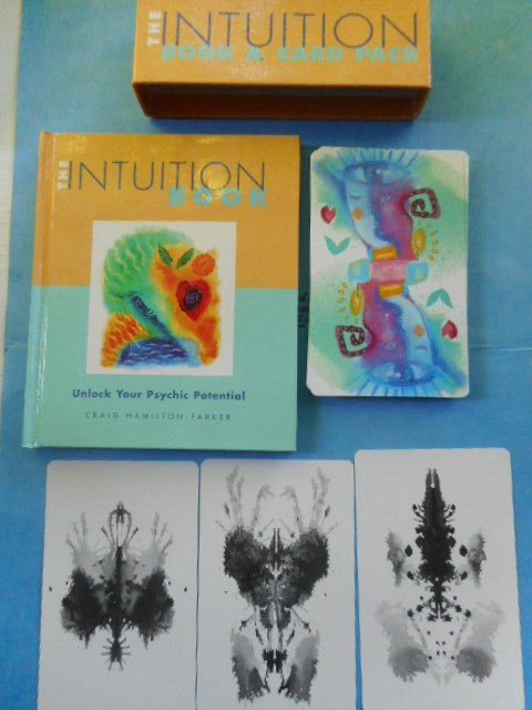 Image for The Intuition Book and Card Pack. Unlock Your Psychic Potential