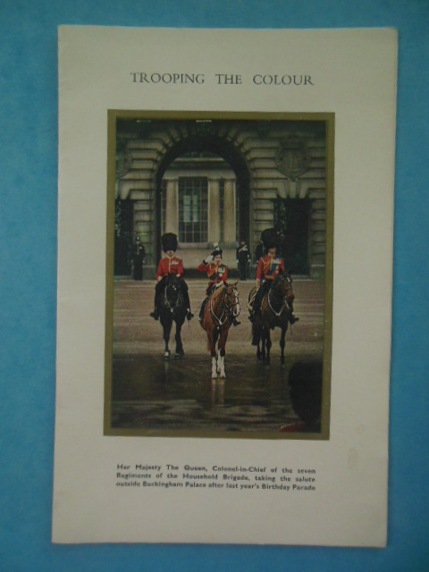 Image for Trooping the Colour In Celebration of the Birhday of Her Majesty the Queen On the Horse Guards Parade