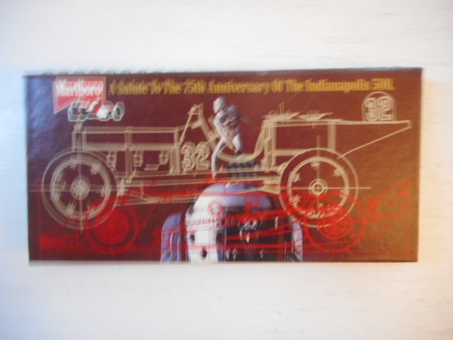 Image for Marlboro A Salute To the 75th Anniversary of the Indianapolis 500