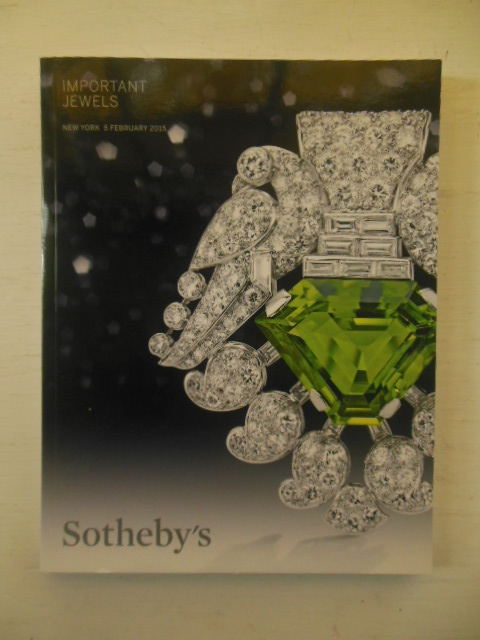 Image for Important Jewels By Sotheby's February 5, 2015