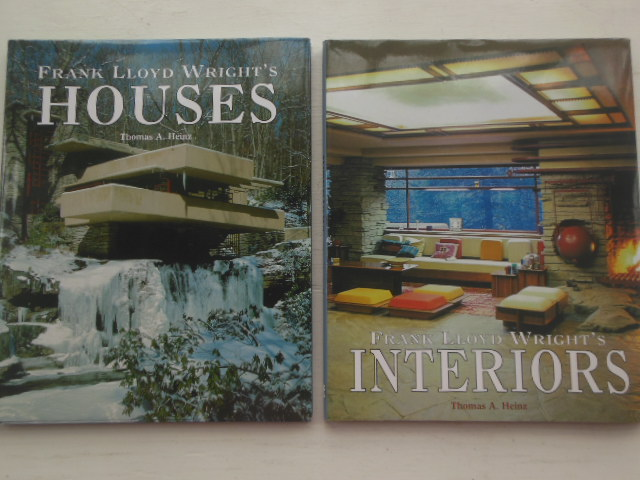 Image for Frank Lloyd Wright's Interiors and Houses (2 volumes)
