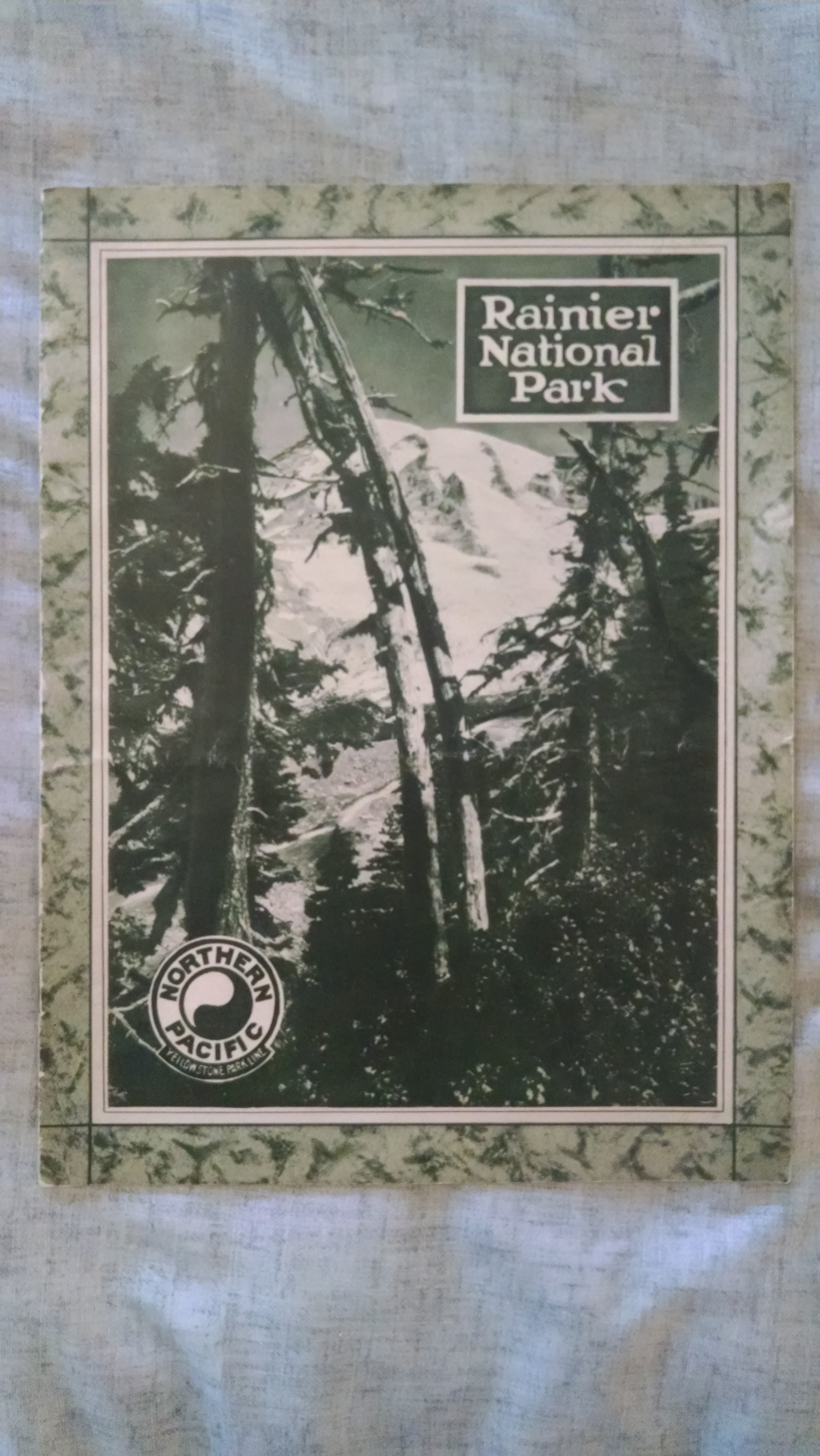 Image for A PICTURE BOOK OF RAINIER NATIONAL PARK