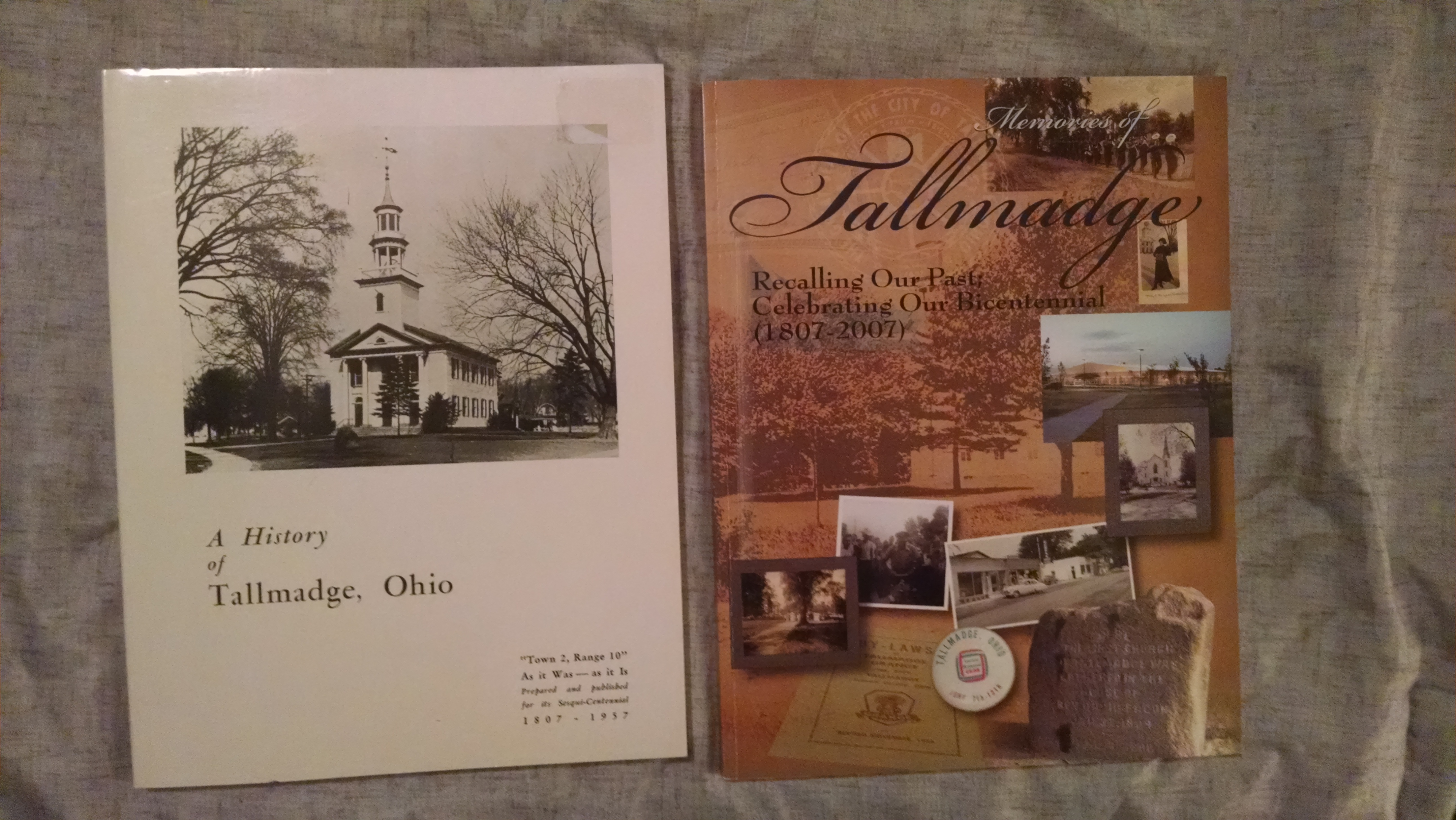 Image for A HISTORY OF TALLMADGE OHIO  and  MEMORIES OF TALLMADGE
