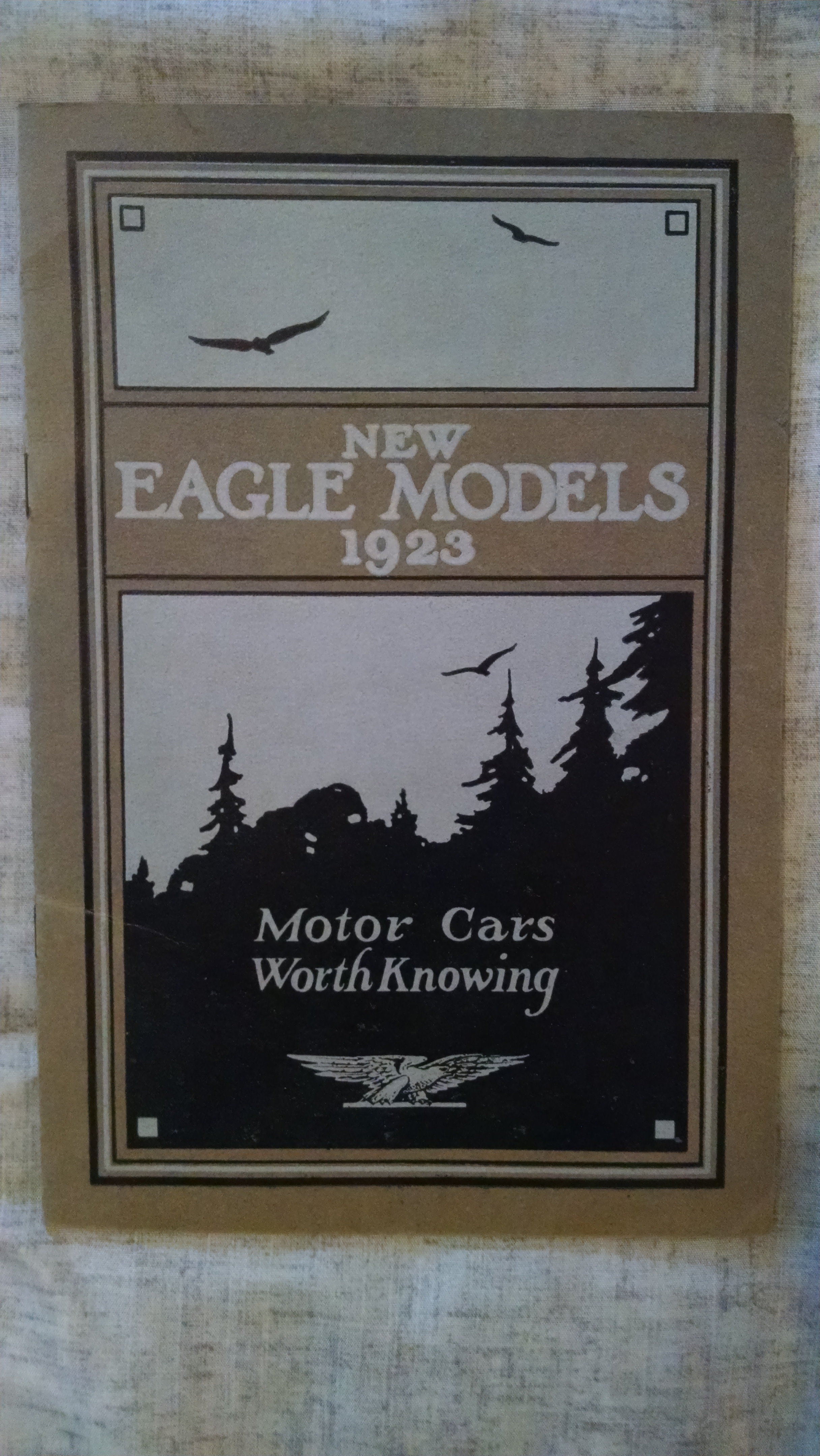 Image for NEW EAGLE MODELS 1923