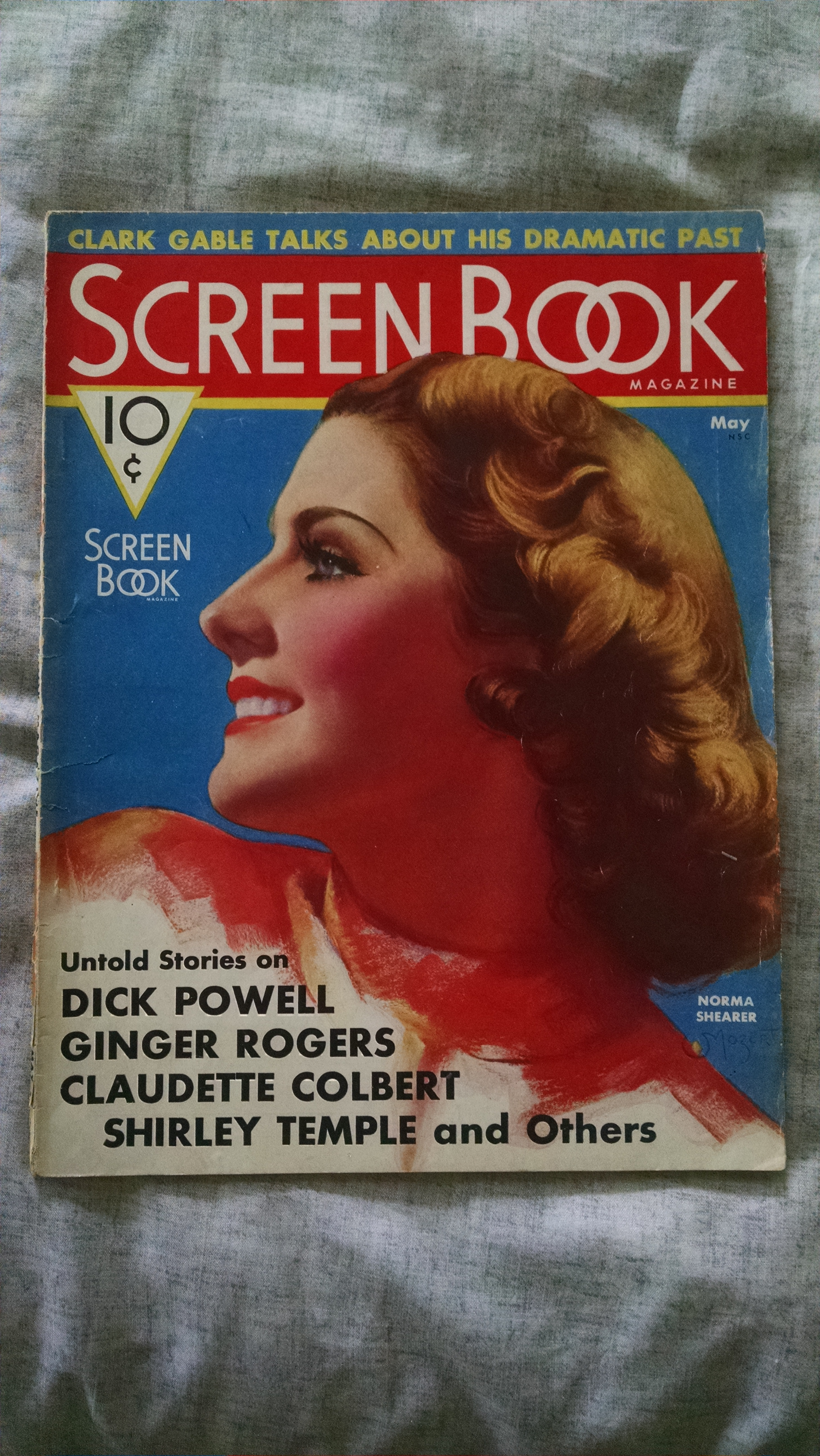 Image for screen book  may 1936