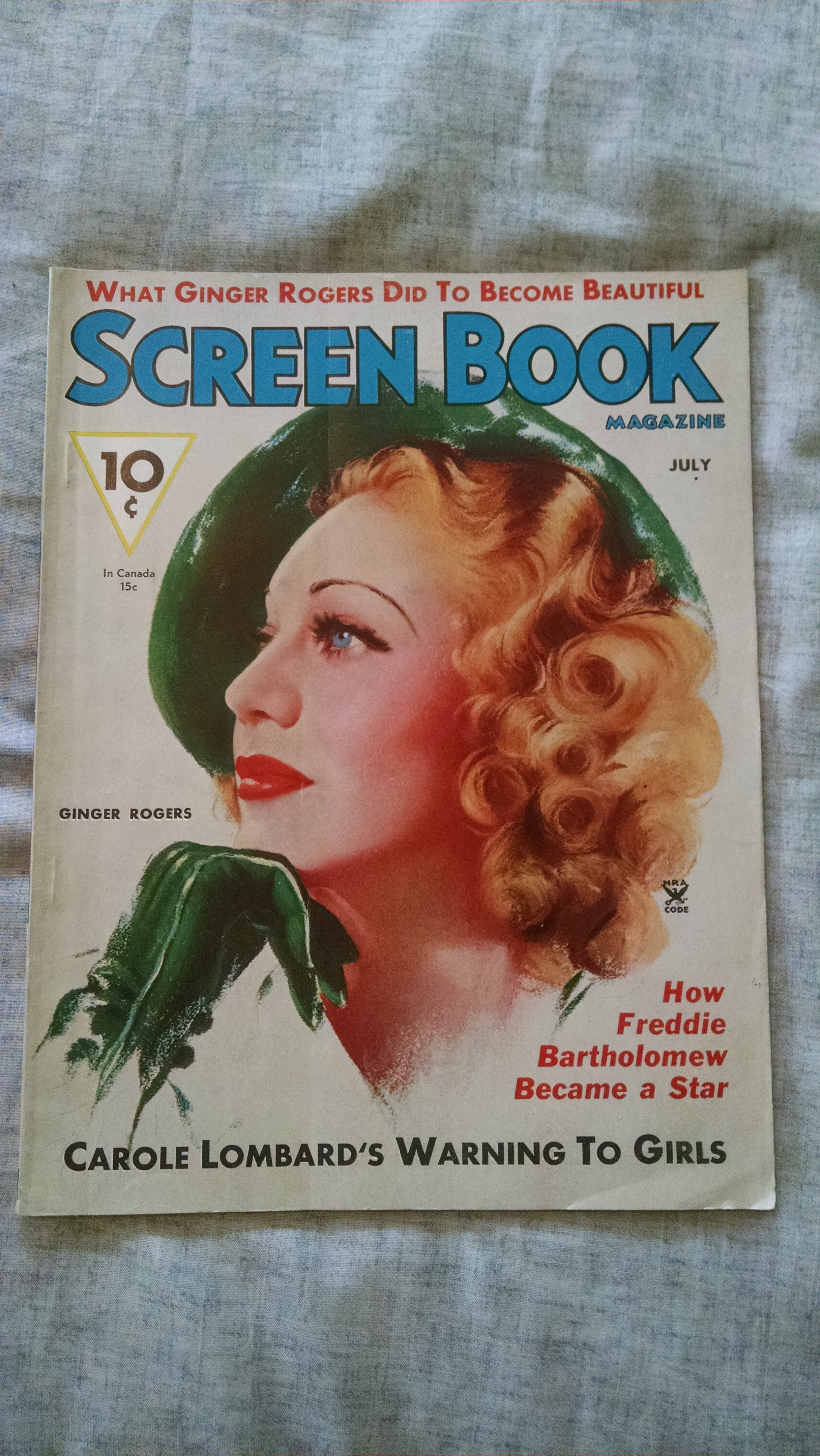 Image for SCREEN BOOK MAGAZINE  JULY 1935