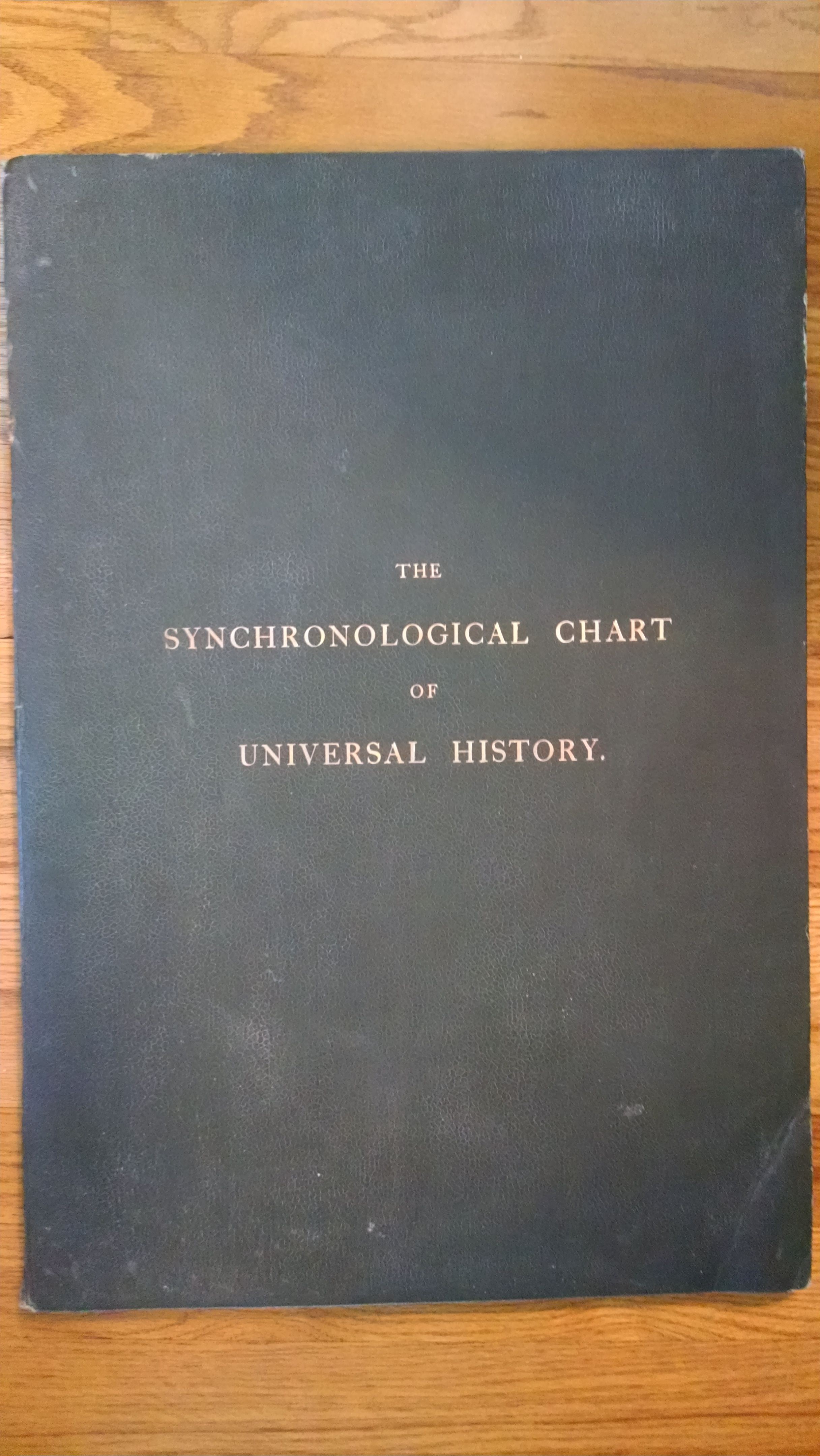 Image for DEACON'S SYNCHRONALOGICAL CHART OF UNIVERSAL HISTORY