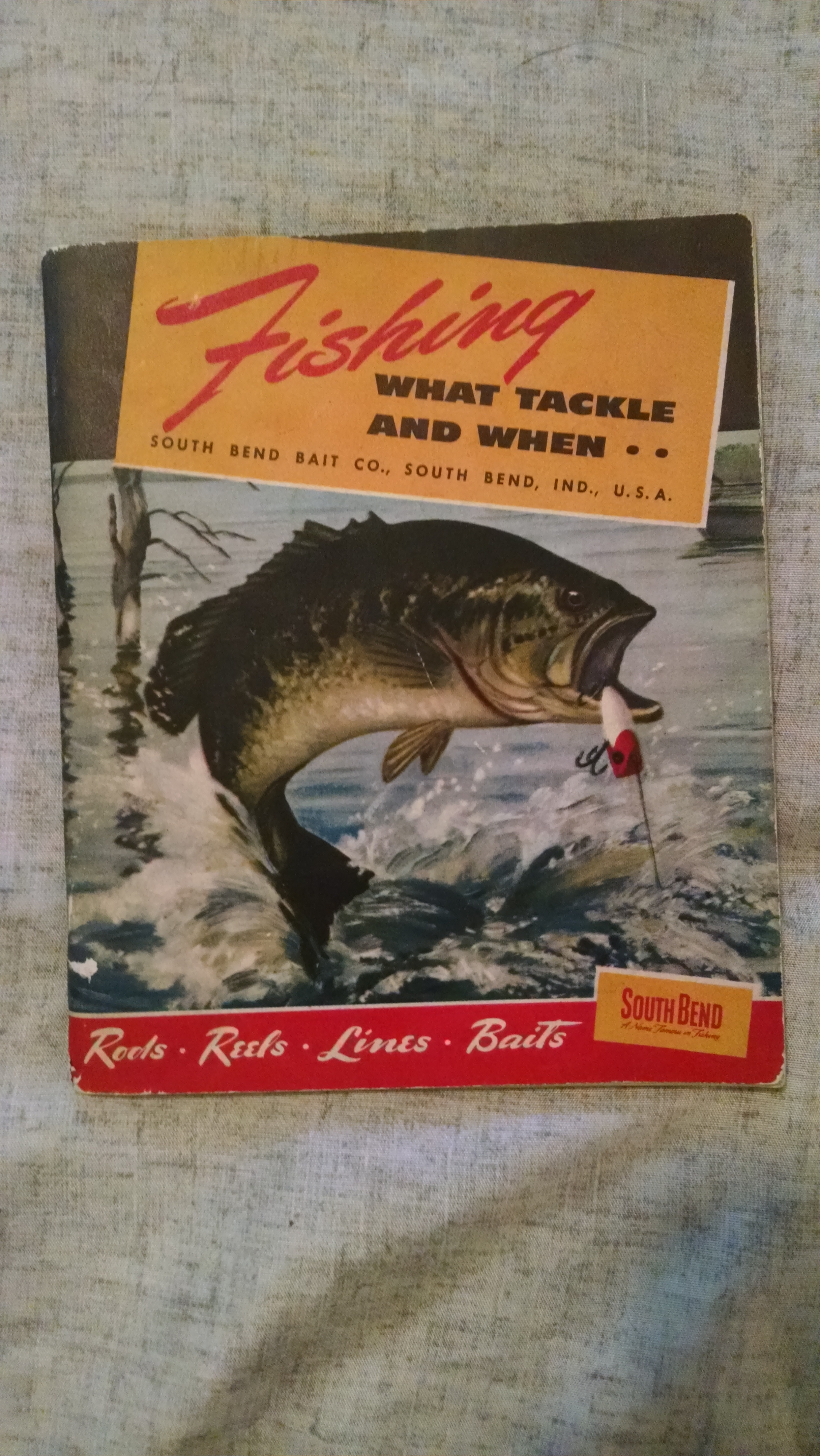 Image for FISHING. WHAT TACKLE AND WHEN